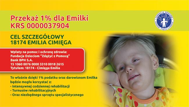 pomoc dla Emilki